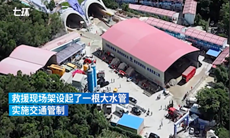 Sobem para 14 os mortos em inundação de túnel em Zhuhai