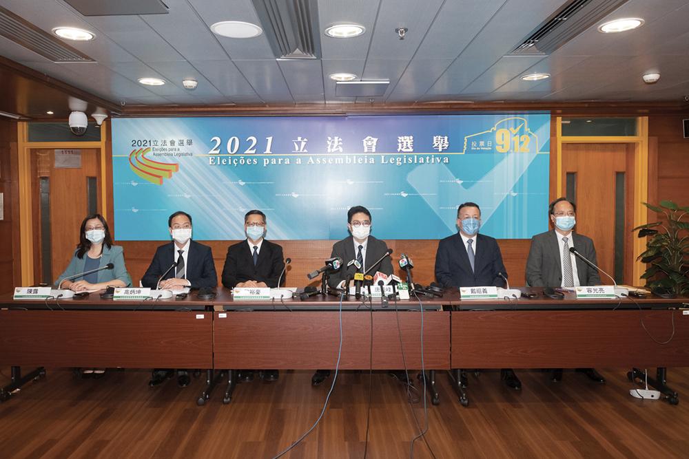 Eleições | Mais desistências e Ou Mun Kong I vai a jogo com três membros