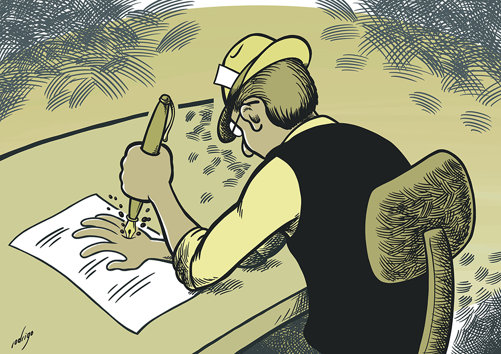 Cartoon | Rodrigo de Matos semi-finalista em concurso organizado em Itália