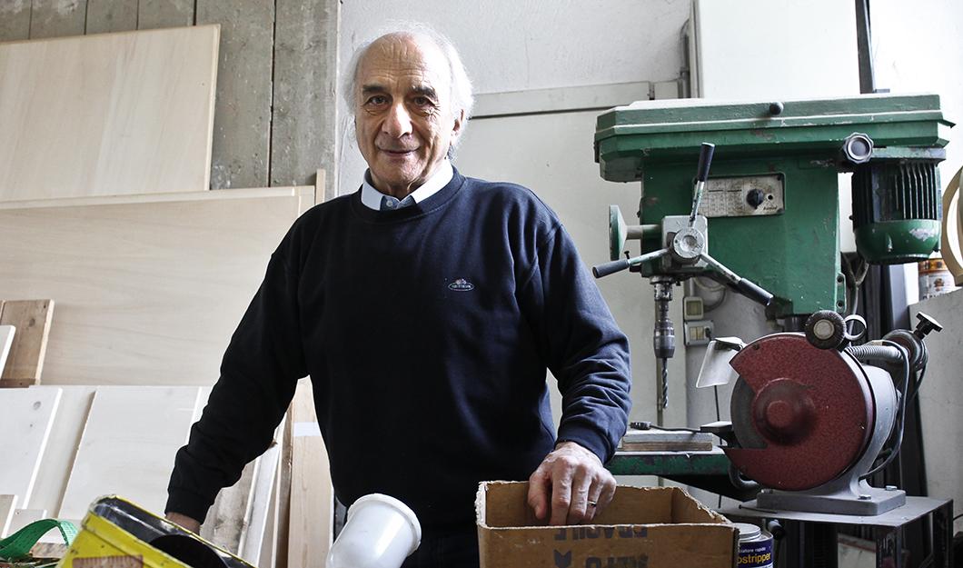 """Riccardo Cordero, escultor: """"A minha escultura pode ser como a caligrafia"""""""