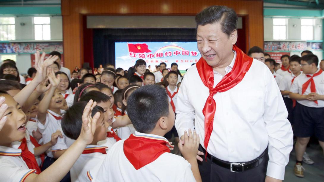Educação | Pensamento de Xi Jinping nos currículos escolares