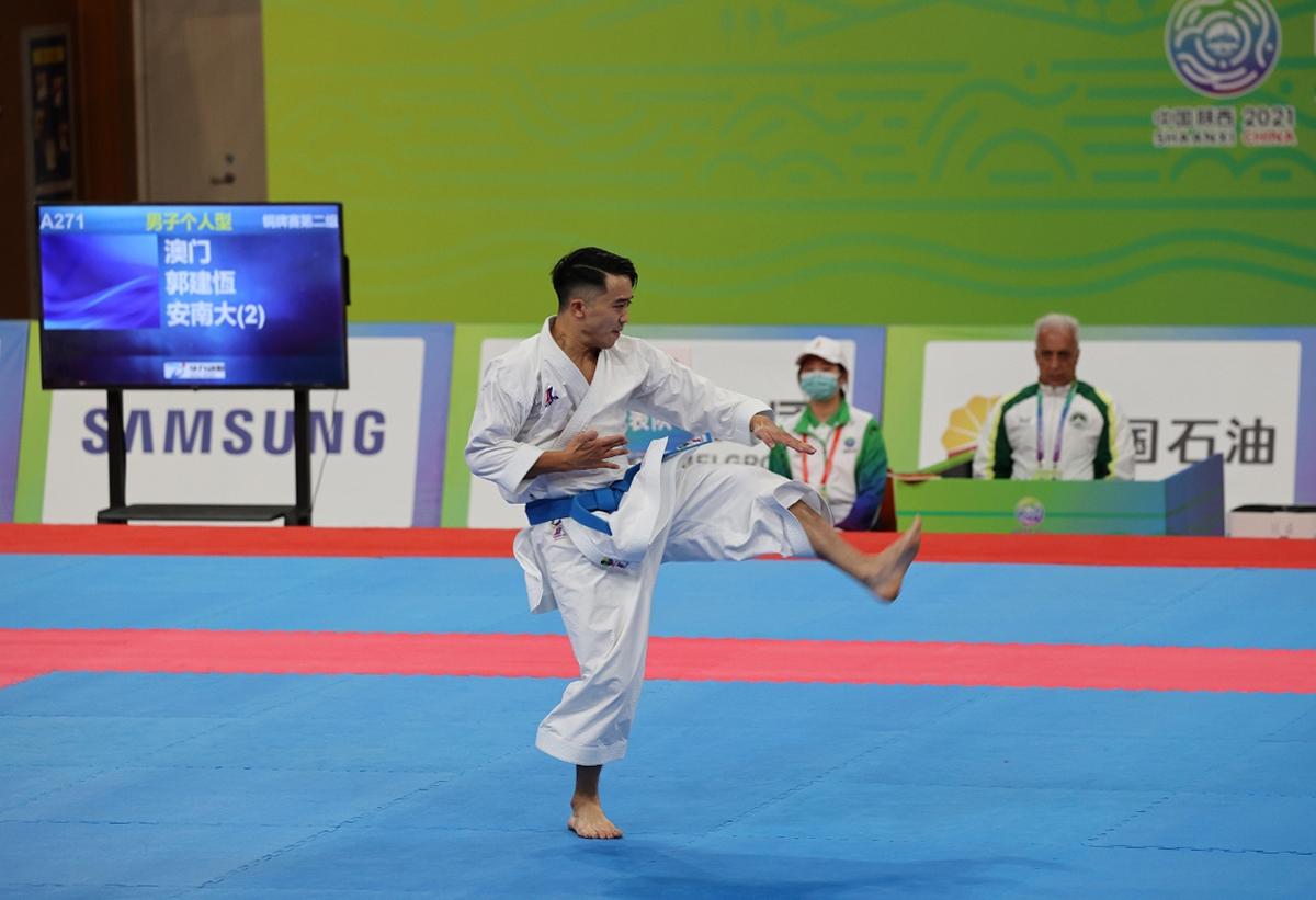 Jogos Nacionais | Kuok Kin Hang conquista primeira medalha de Macau