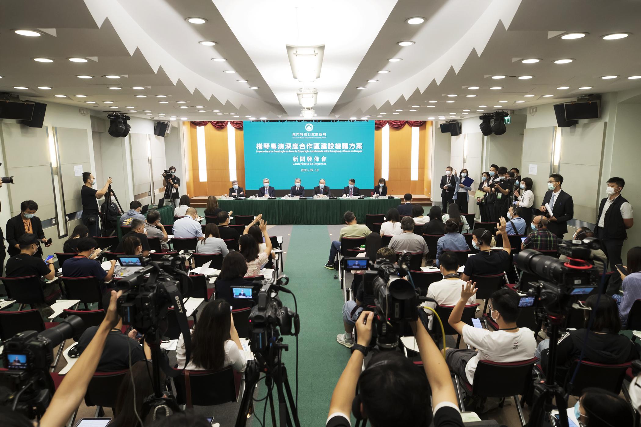 Hengqin | Chefe do Executivo afirma que projecto de cooperação é inédito