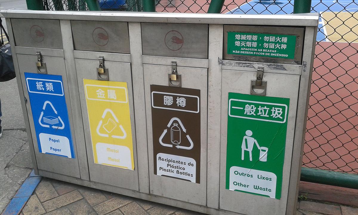 Grupo Macau Waste Reduction alerta para necessidade de reciclar