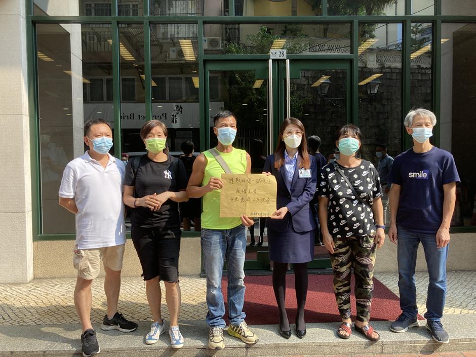 Wong Wai Man pede 20 mil patacas para cada residente