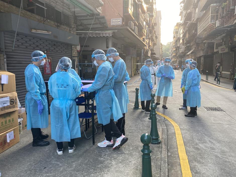 Covid-19   Iniciada testagem em massa após três novos casos