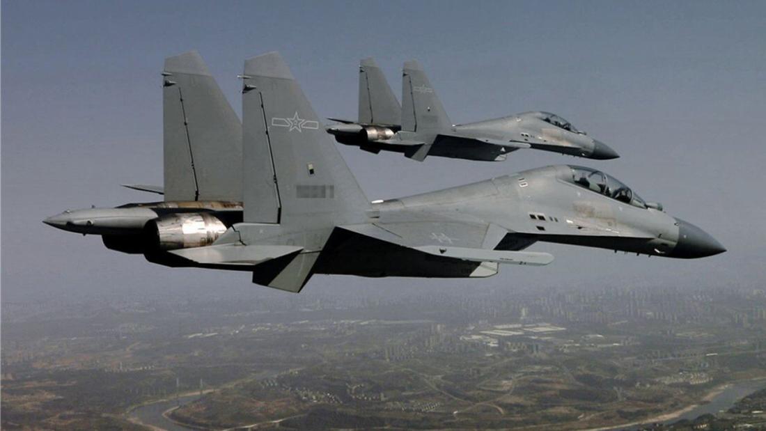 Taiwan | 56 caças chineses entram na Zona de Identificação da Defesa Aérea
