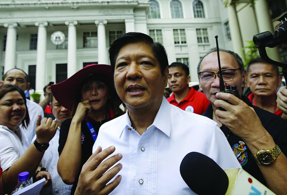 Filipinas | Filho de Ferdinand Marcos candidato à presidência