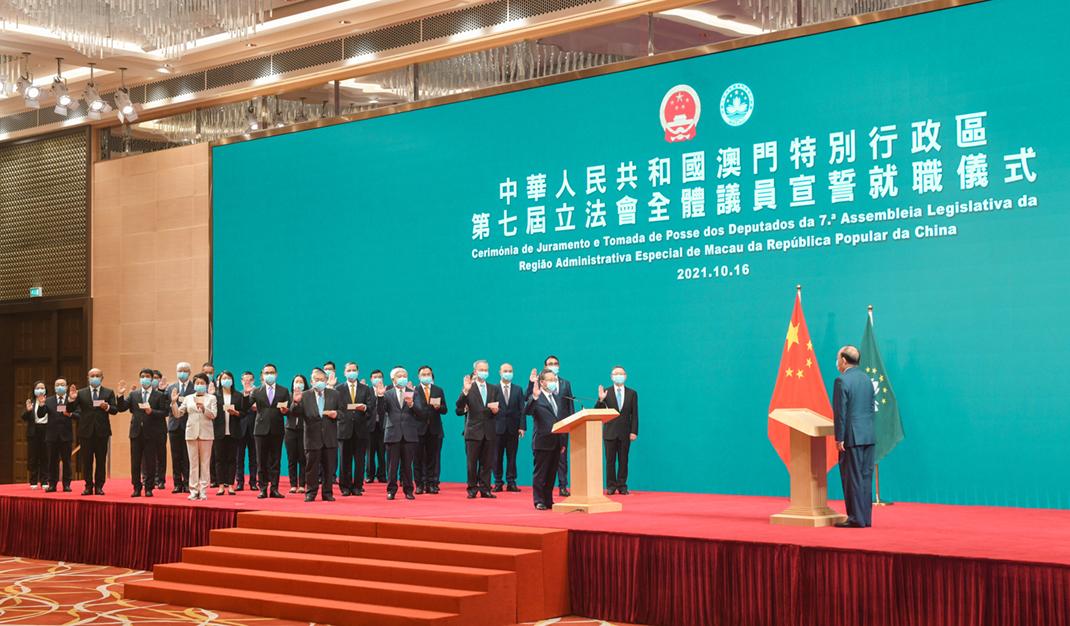 AL | Kou Hoi In reeleito presidente. Deputados tomam posse com 10 caras novas